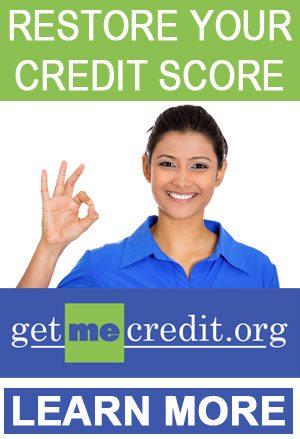 Restore your credit score