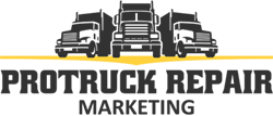 Pro Truck Repair Marketing Logo